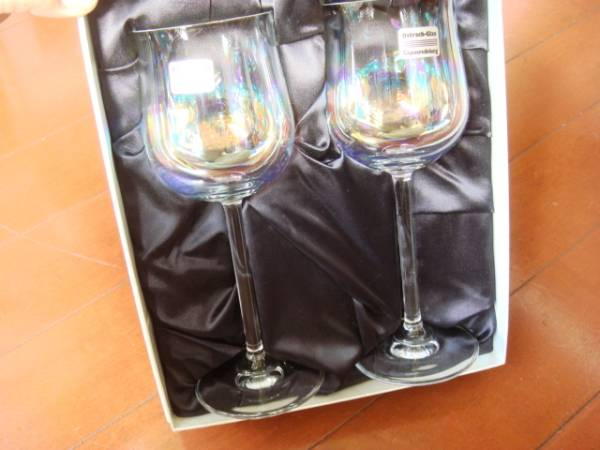 ?レア!未使用品!Ostrach-Glasのペアワイングラス!