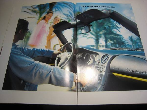 * abroad catalog . language Fiat Barchetta 6632