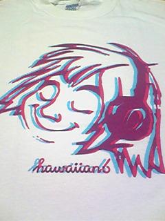 HAWAIIAN6新品Tシャツ 横山健 KENYOKOYAMA ハワイアン6