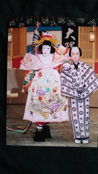 歌舞伎座 舞台生写真 中村雀右衛門 京屋 籠釣瓶花街酔醒 八ッ橋