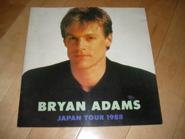 ブライアン・アダムス/BRYAN ADAMS//'88JAPAN ツアーパンフ