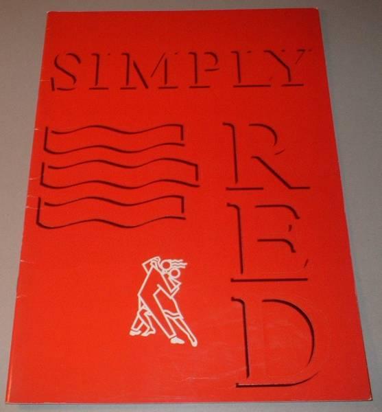 パンフ シンプリー・レッド [JAPAN TOUR '87] SIMPLY RED