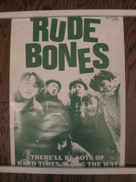 RUDE BONES*ルードボーンズ ポスター 非売品 SKA
