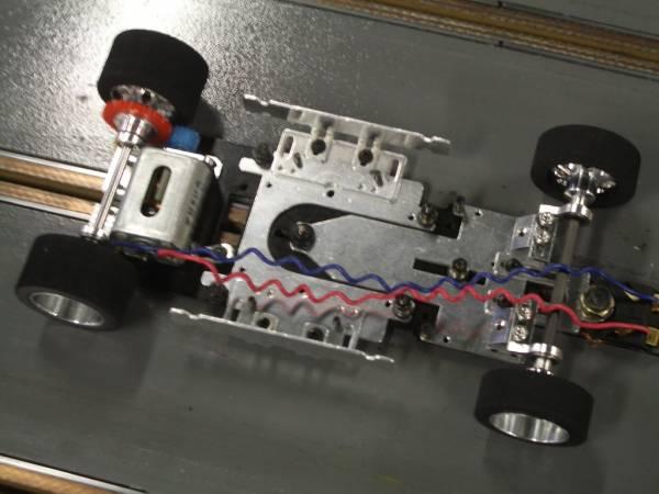 1/24スロットカー オーダー完成シャシー_製作例です