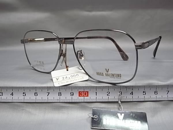 145□4/メガネ めがね 眼鏡 日本製 ヒューゴ バレンチノ  _画像2