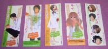 ★☆小林ユミヲ「にがくてあまい」しおり5枚セット料理レシピ付