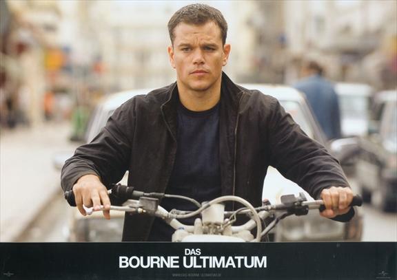2007年映画、ボーン・アルティメイタム ドイツ語 ロビーカード3枚付き