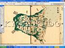 ◆天保八年◆国郡全図 筑後国◆スキャニング画像データ◆古地図CD◆送料無料◆