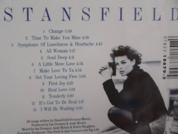 CD LISA STANSFIELD real love