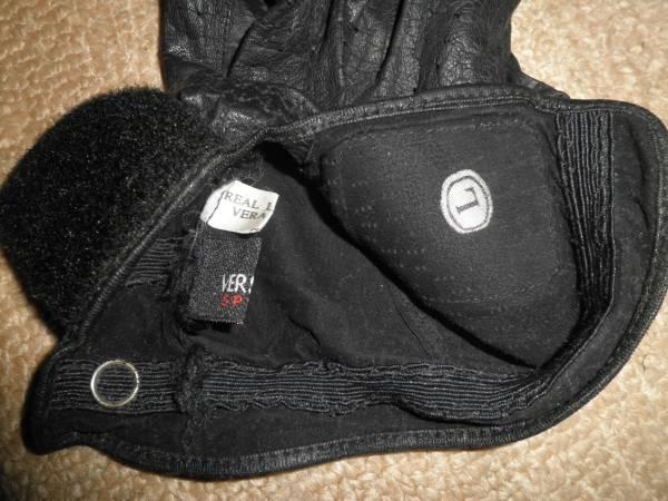 ヴェルサーチVERSACE SPORTベルサーチ/本革ゴルフ手袋グローブ/Lサイズ/左手のみ/ドライビンググローブにも/熊本県からヤマト便で発送_画像3
