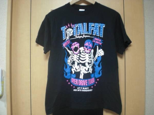 TOTALFATトータルファット×SABBAT13サバトサーティーン限定コラボ廃盤バンドTシャツ(バンT/ライブT)色ブラックsizeS美中古品