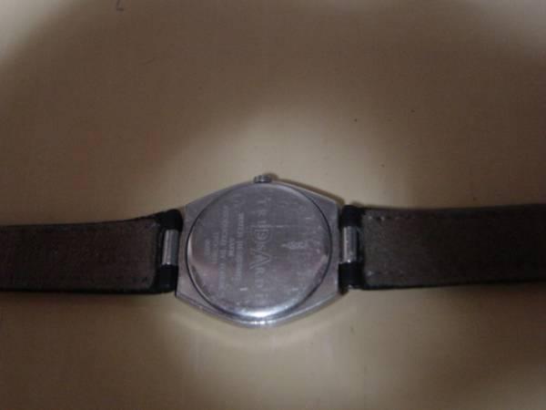 アンティーク トラサルディー 3ATM 女性用腕時計 シルバー_画像3