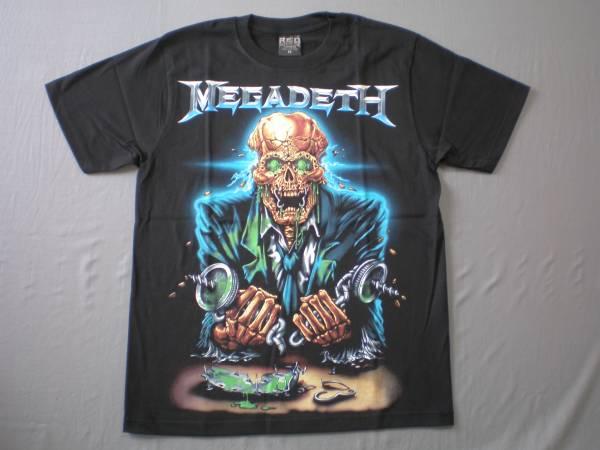 バンドTシャツ メガデス( MEGADETH) 新品 Mサイズ