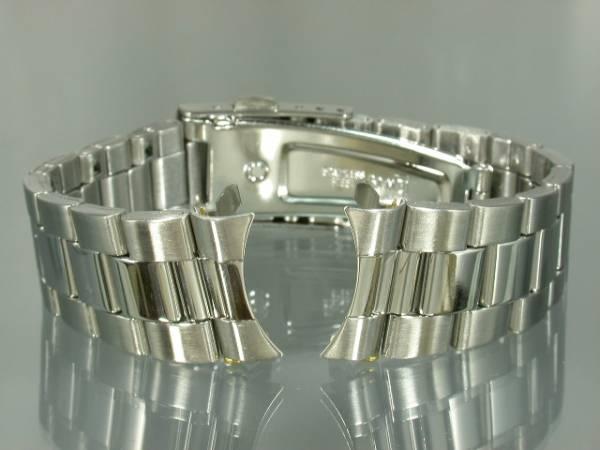 【即決】19mm(18mmOK)SS三列中鏡面バンド弓カンBAMBI24S