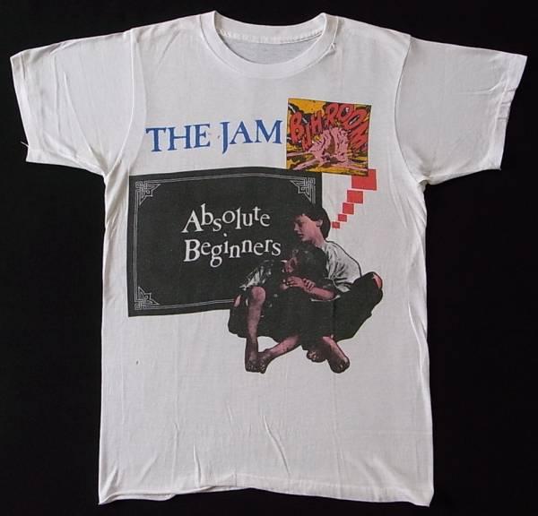 1981年 THE JAM Tシャツ Absolute Beginners ポールウェラー ビンテージ バンドTシャツ ロックTシャツ