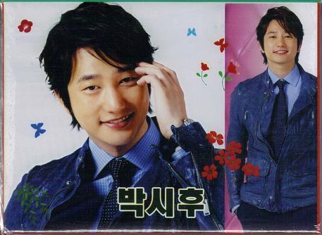 ☆New!■パク・シフ/イルジメ/姫の男■卓上2段メモ帳②☆韓国