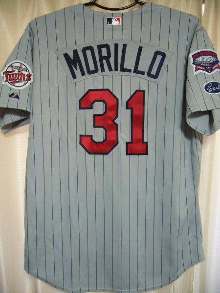 MLB ミネソタ・ツインズ 楽天イーグルス フアン・モリーヨ #31 本人実使用ジャージー