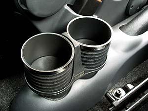 FIAT 500(-'15) ドリンクホルダー/ブラック&リング AL-140BS 【ALCABO】 新品/フィアット/アバルト/ABARTH/_画像2