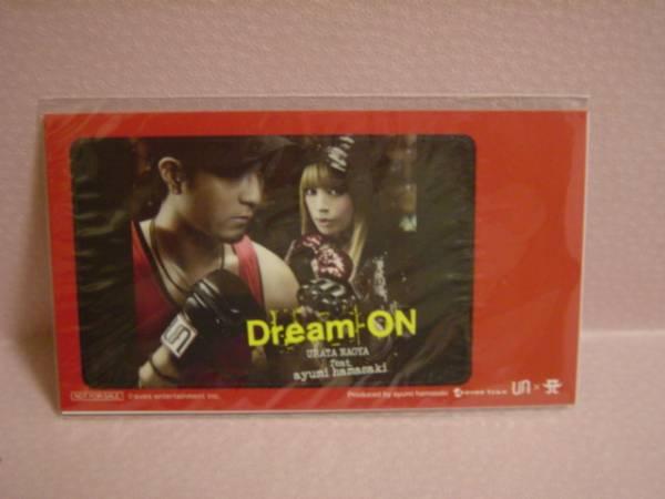 ★浜崎あゆみ × 浦田直也 Dream On IC カードステッカー★