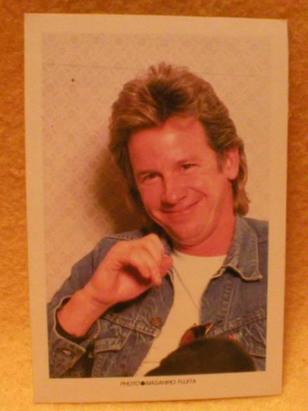 ジョニー・コーラ カード ヒューイ・ルイス & ザ・ニュース ロック バンド アメリカ