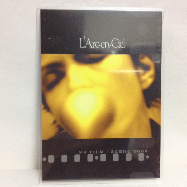 L'Arc~en~Ciel TRADING CARD PERFECT COLLECTION 再販 No.71