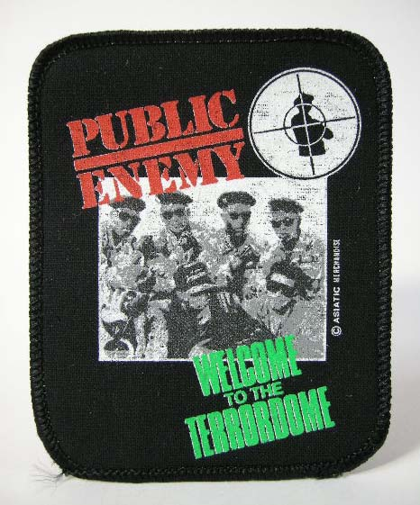 PUBLIC ENEMY 90'S VINTAGE デッドストック ヴィンテージ ワッペン N.W.A HOUSE OF PAIN ONYX ANTHRAX