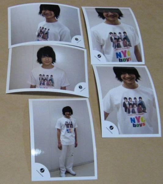 知念侑李 写真 5枚  NYC boys  ショップ 公式