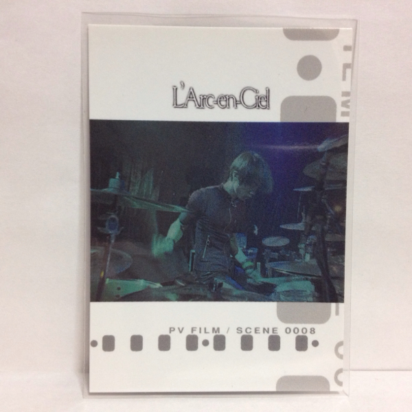 L'Arc~en~Ciel TRADING CARD PERFECT COLLECTION 再販 No.62