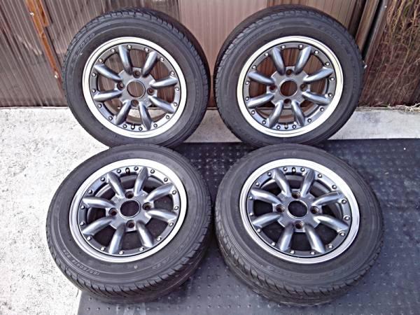 SSR RS-8 タイヤ/ホイールセット 4本中古
