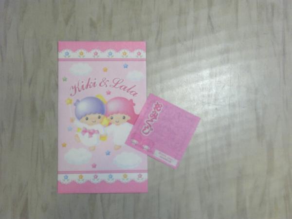 SANRIO サンリオ キキ&ララ Kiki & Lala お年玉 ポチ袋_画像1