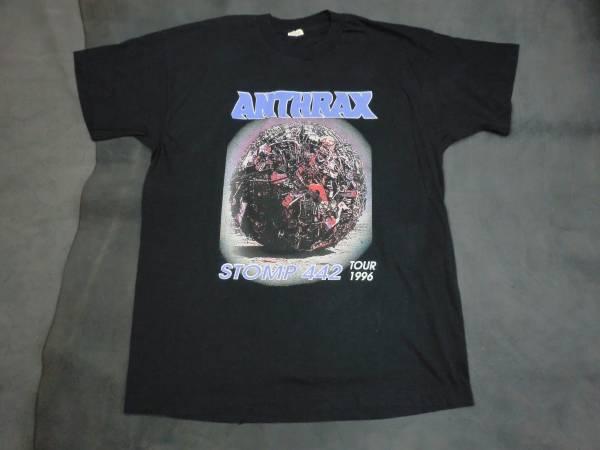 当時物ANTHRAX STOMP442 Tシャツ■excel zorlac dogtown RHCP