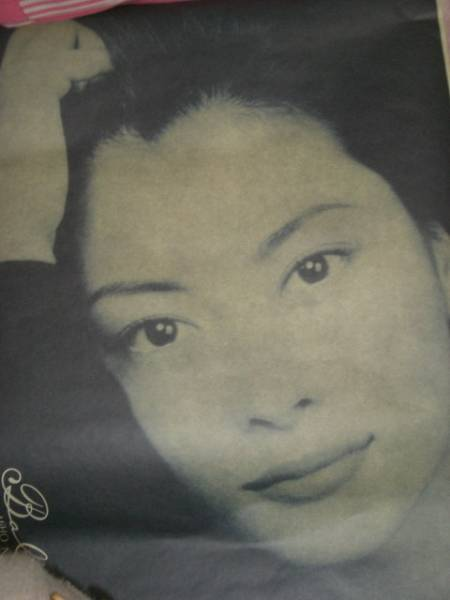 5479 中山美穂さんアルバムポスター中古品