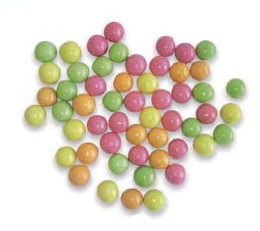 【お菓子】カラーチョコボール(2kg)お得(業務用にも)♪_画像1