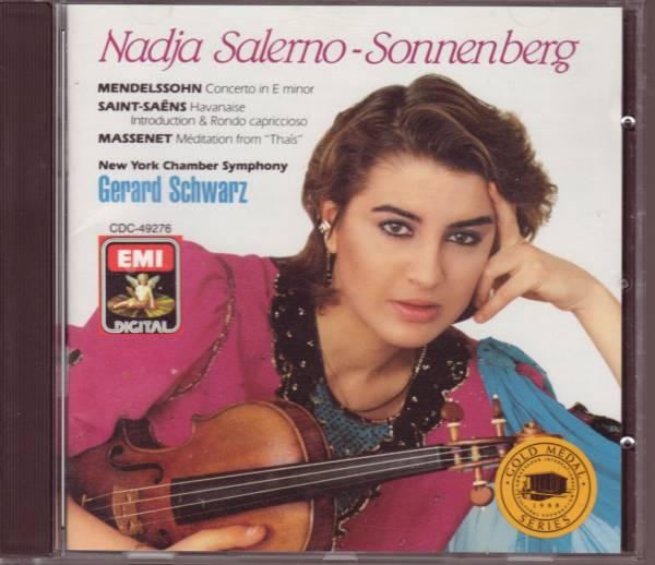 メンデルスゾーン Vn協奏曲etc ナージャ・サレルノ=ソネンバーグ_画像1