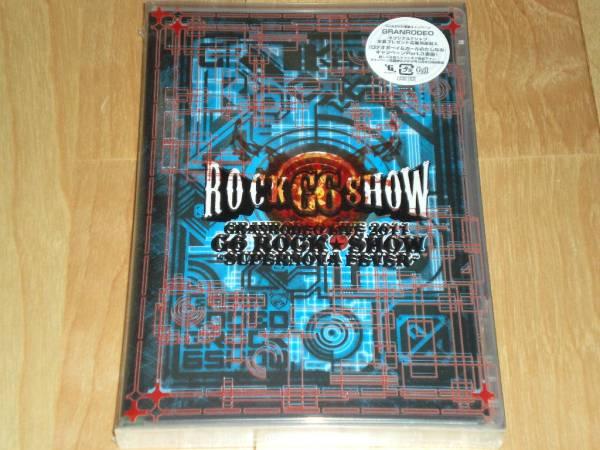 未開封DVD 『GRANRODEO LIVE 2011 G6 ROCK☆SHOW』 ライブグッズの画像