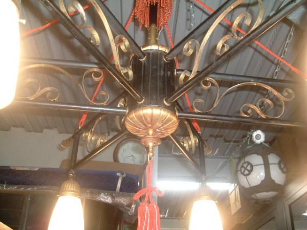 【明かり】*「大正シャンデリアW24」、明かり、時代物,〝燈〟_画像3