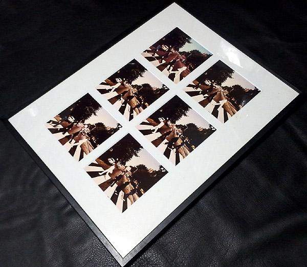 『アビーロード』 ジャケット写真6枚額装 100個限定品 ☆お宝