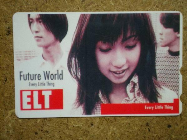 i5391・Future World 持田香織 ELT 貼テレカ