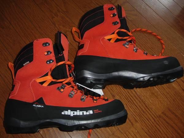 アルピナ ALPINA ALASKA NNN BC クロカン ブーツ 45_画像2