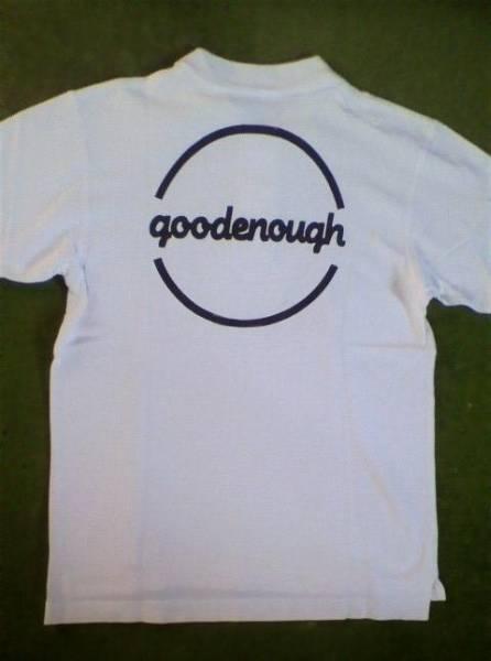 GOODENOUGH グッドイナフ READYMADE 背ロゴ ポロシャツ 白 M_画像1