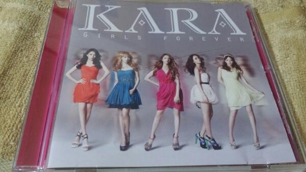 ガールズ フォーエバー(初回盤C) / KARA CD 送料150切手可ハ