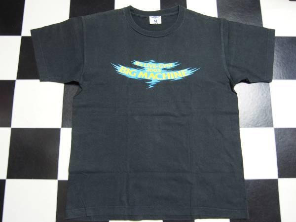 146 B'z ビーズ BIG MACHINE 2003年 ライブ限定 バンド 半袖TシャツM