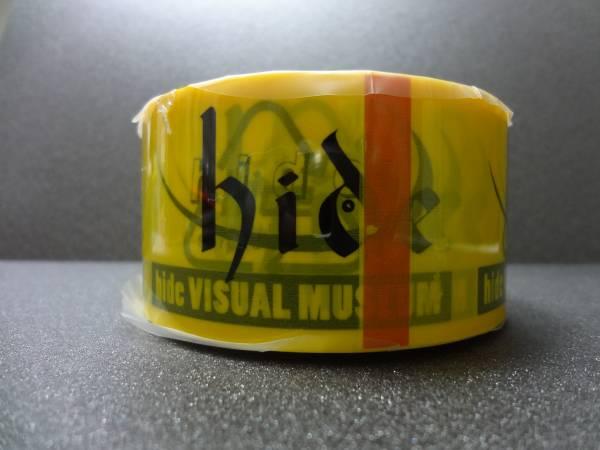 ◆hide VISUAL MUSEUM ビニールテープ◆J.A.M. 当選品/非売品