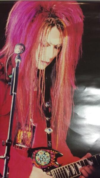 X JAPAN hide ポスター ヒデ 1994 ソロツアー