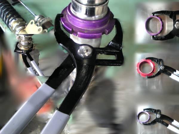 汎用 車高調 レンチ スベレンチ FD3S テイン HKS タナベ クスコ 万能 車高 調整 工具_画像3