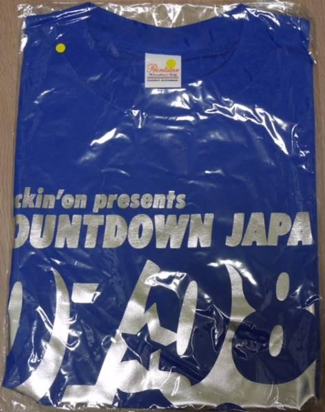 【送料無料】新品 COUNTDOWN JAPAN 07/08 Tシャツ Mサイズ 青 ブルー rock in japan fes. ロッキン ロックインジャパン レア
