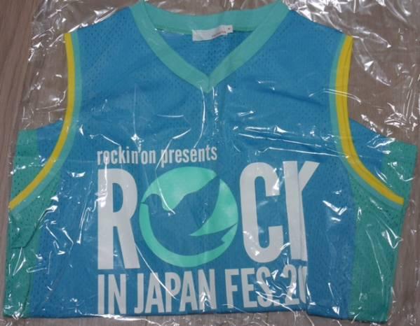 新品 ROCK IN JAPAN FES.2011 メッシュタンクトップ Mサイズ
