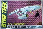 AMT 1/650 STAR TREK U.S.S. ENTERPRISE THOLIAN WEB 蓄光版 スタートレック 宇宙大作戦 光るエンタープライズ号