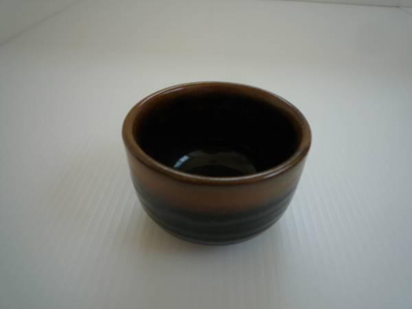 【お得!!】★小鉢4個セット★ 黒系 陶器 湯呑み_画像2