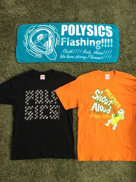 POLYSICS Tシャツ 2枚 & フェスイタオル セット ポリシックス M